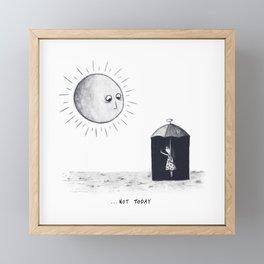 Don't Sunshine On My Rain Parade Framed Mini Art Print