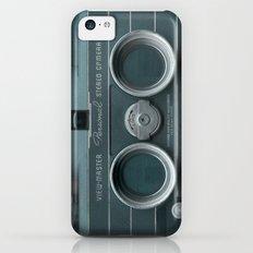Camera Vintage Stereo  Slim Case iPhone 5c