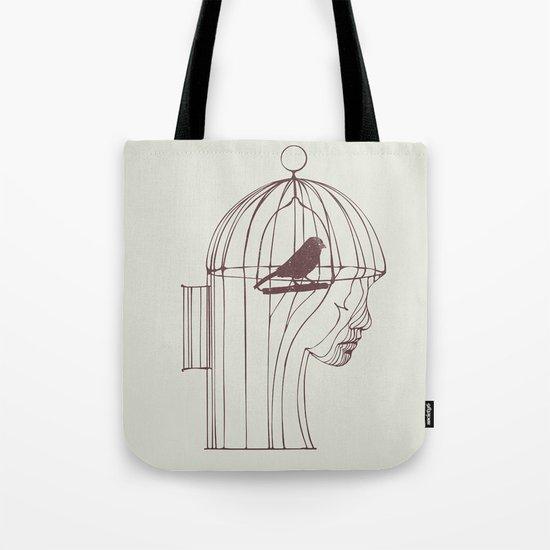 Be Alone Tote Bag