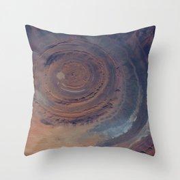 eye in the sky, eye in the desert | space 001 Throw Pillow