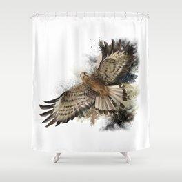 Falcon Flight Shower Curtain
