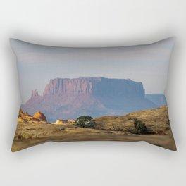 Distant Mesa Rectangular Pillow