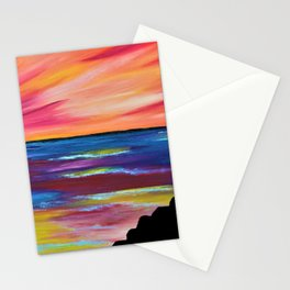 GIANT'S CAUSEWAY SILHOUETTE Stationery Cards