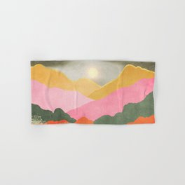 Colorful mountains Hand & Bath Towel