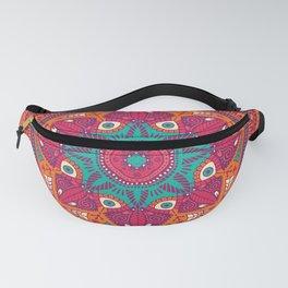 Colorful Mandala Pattern 017 Fanny Pack