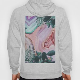Mineral Agates & Garden #Glam collection Hoody