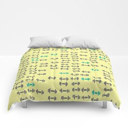 this is the dumbbells! Comforters