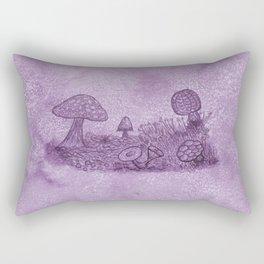 Fungi Meadow Rectangular Pillow