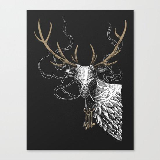 Oh Deer! Light version Canvas Print