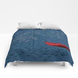 Origami Wave Comforters