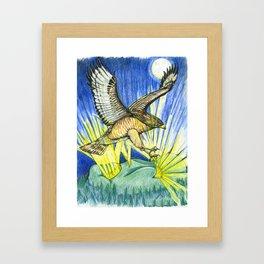 Dorothy's Totem Framed Art Print