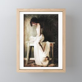 Carried to the Table Framed Mini Art Print