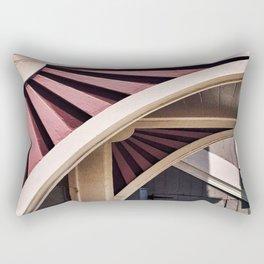 Flower Arch Rectangular Pillow