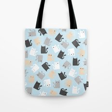 Scattercats Tote Bag