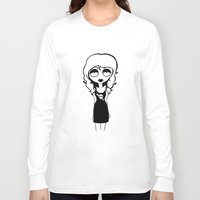 belle Long Sleeve T-shirts featuring Belle by Laura Meg