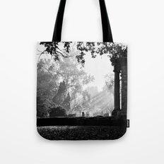 Morning at greenlawn Tote Bag