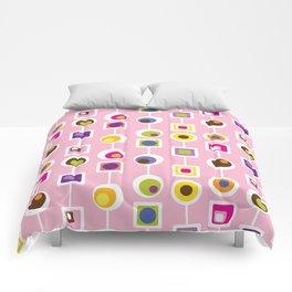 Mod Love Pink Comforters