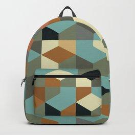 Abstract Geometric Artwork 57 Backpack