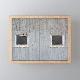 Eyes of the Barn Framed Mini Art Print