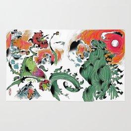 Godzilla vs Biollante a'la DANG Rug