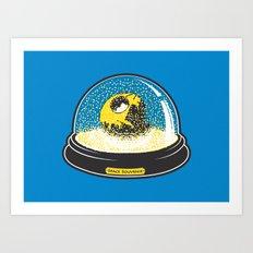 Space souvenir Art Print