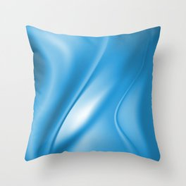 Soft Silk Satin 7 Throw Pillow