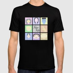 The Addams Family  Black MEDIUM Mens Fitted Tee