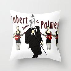 Robert Hearts of Palmer Throw Pillow