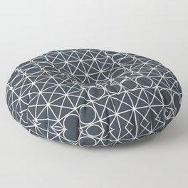Geometric Tile Pattern Floor Pillow