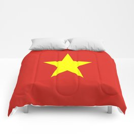Flag Of Vietnam Comforters