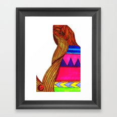 Bad Sweater Framed Art Print