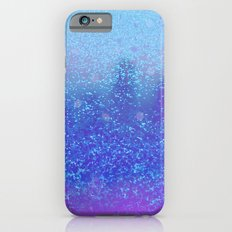 snowing on moon iPhone 6s Slim Case