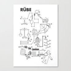 Rube Canvas Print