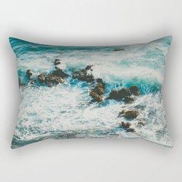 Palos Verdes Surf Rectangular Pillow