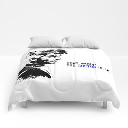 David Tennant Dr. Who - The Doctor is In Comforters