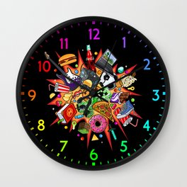 teenage explosion  Wall Clock