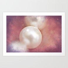 Vintage Pearl Art Print