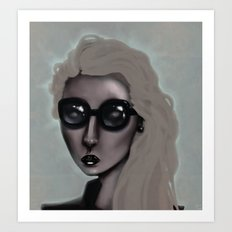 Shades with a Glow Art Print