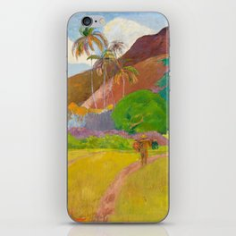 Tahitian Landscape by Paul Gauguin iPhone Skin