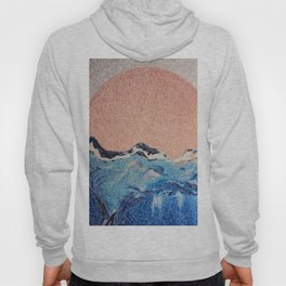 Sun of a Harvey - Storm Struggle Inspo - Acyrlic Painting Hoody