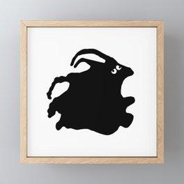 Faux Pas Framed Mini Art Print