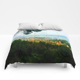 La Spezia, Italy City Panorama Comforters
