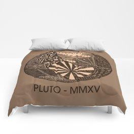 Pluto Sketch Comforters