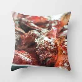 Red Snapper Throw Pillow