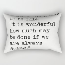 Thomas Jefferson quote 3 Rectangular Pillow