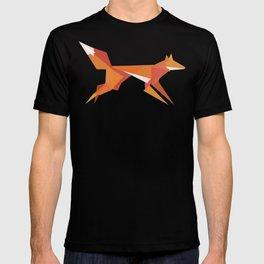 Fractal geometric fox T-shirt