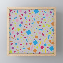 Geometric Figure Creation 5 Framed Mini Art Print