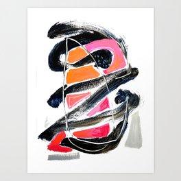 The Big Zag Art Print