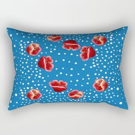 Multiple Poppies Rectangular Pillow