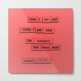 Roses, 2002 Metal Print